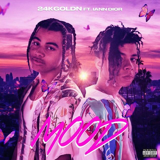Mood album cover by graphic designer