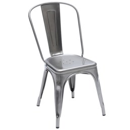 Classic steel Tolix chair