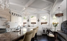 Diamond Shaped Coffered Ceiling