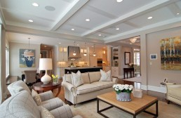 The cheat way to create coffered ceiling