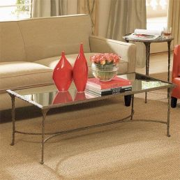 Simple and elegant way of adding the accent color to the coffee table