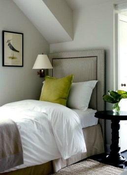 Classic upholstered headboard