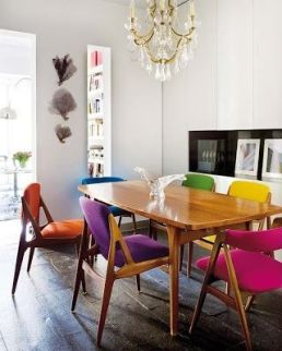 Retro chic using brights