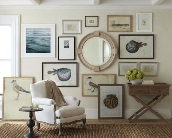 Gallery Wall Nautical Coastel