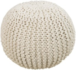 The classic knit pouf