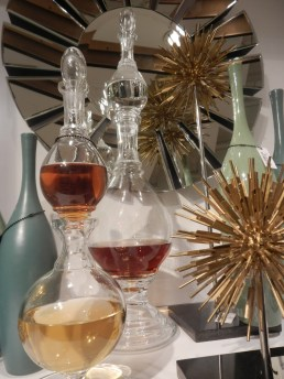 Spirits glass decanters