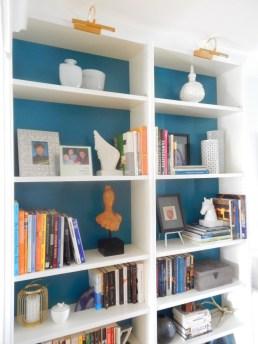 Shelf closeup