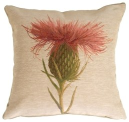 Thistle toss pillow