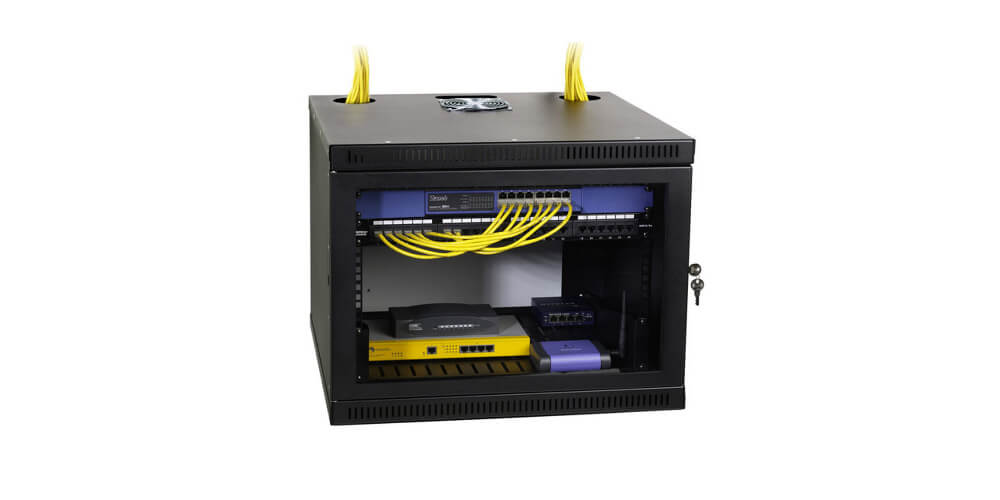 benefits of a wall mount network rack
