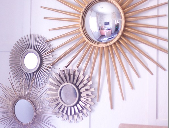 sunburst Mirror Collection
