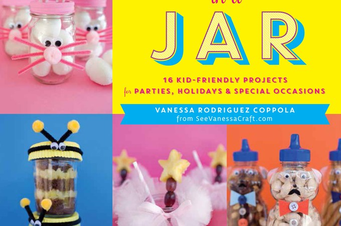 Party in Jar! A Look at See Vanessa Craft New Book