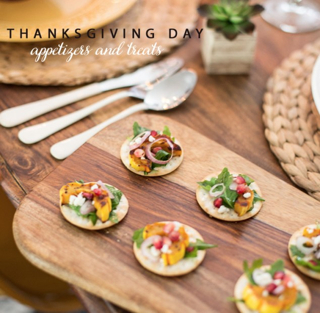 Thanksgiving Day Appetizers
