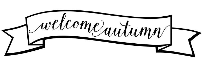 Welcome Autumn Sign Printable Free