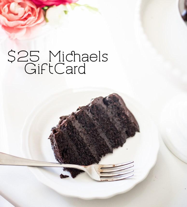 Michaels Giveaway