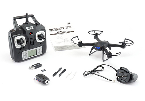 DM007 SPY Quadcopter with HD Camera - In The Box
