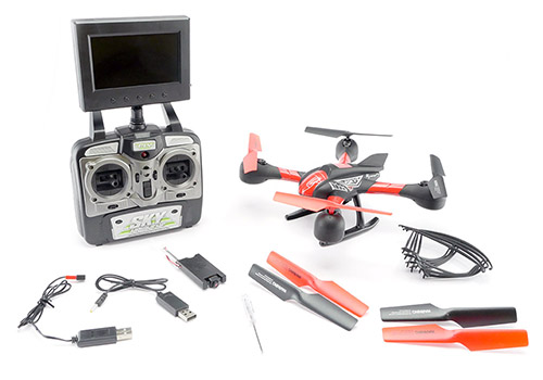 Sky Hawkeye 5.8 GHz Quadcopter - In The Box