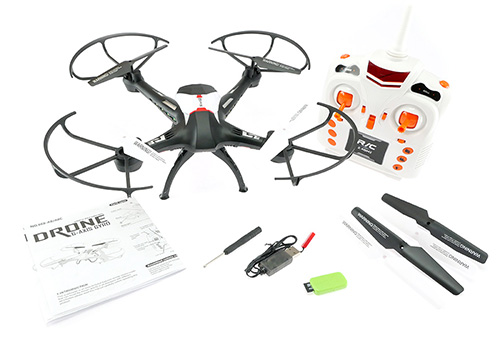 Scout A8 Quadcopter with VGA Camera - In The Box