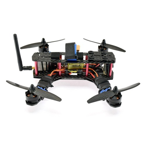 MRV Hel Yeh 250 FPV Racing Quadcopter - Side View