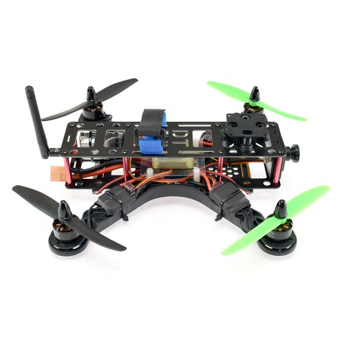 MRV X-Fighter 250 FPV Racing Quadcopter - Side View