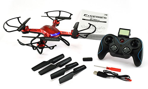 F181 Chaser Quadcopter - In The Box