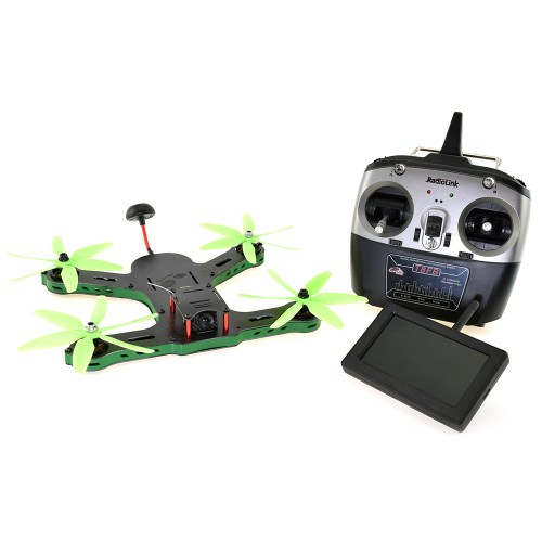 F250 RTF 5.8GHz FPV Racing Drone with Screen and Controller