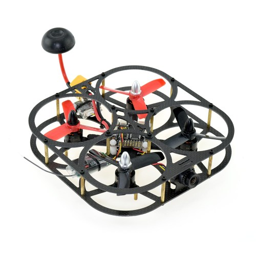 Caged Carbon Fibre 110 FPV Racing Drone