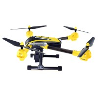K70 Sky Warrior Wi-Fi FPV Quadcopter - Side View
