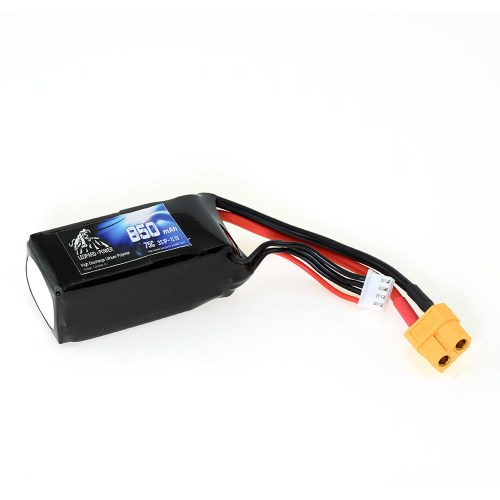 Leopard Power 850mAh 75C 3S 11.1V Li-Po Battery