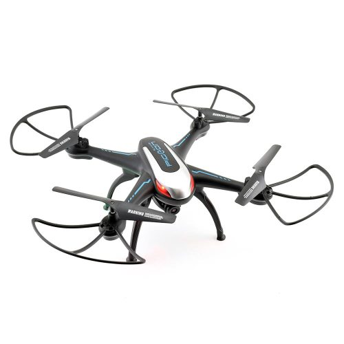 Pigeon King Quadcopter with Prop Guards in Black