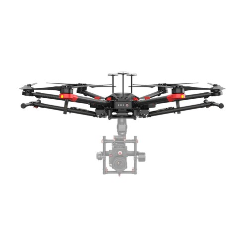 DJI Matrice 600 Pro - In the Box - Top View with Gimbal
