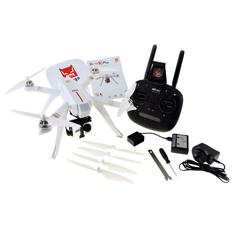 MJX Bugs 3 Pro Quadcopter - In the Box