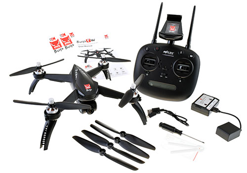 MJX Bugs 5W Wi-Fi FPV Quadcopter - Page In The Box
