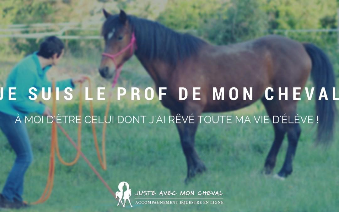 Devenir un bon prof pour ton cheval