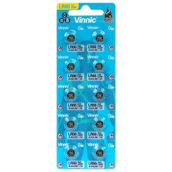 AG4 Vinnic LR66 376 L626 1.5V Alkaline Batteries