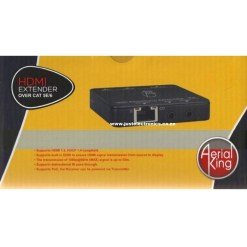 Aerial King HDMI Extender Over Cat6 With IR PassThrough