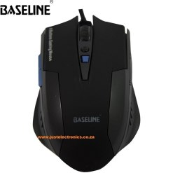 Baseline Optical Gaming Mouse 6 Button BL-GOM201