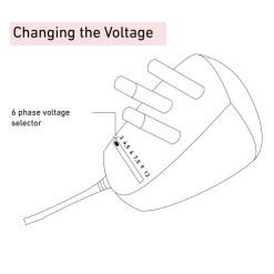 Ellies AC DC Adapter 1 Amp
