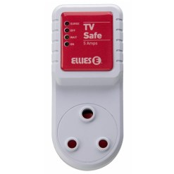 Ellies TV Safe Over Voltage Protection Plug FEATVG16
