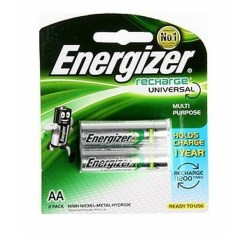 Energizer Rechargeable AA 2000mAh Pack of 2