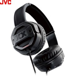 JVC HA-SR50X Xtreme Xplosives Headphones With Built in Mic Dual Bass Ports