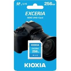 Kioxia Exceria 256GB SDHC Memory Card UHS-I U1 Class 10 100MB LNEX1L256GG4