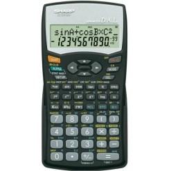 Sharp Scientific Statistics Calculator EL-531WH BK