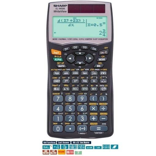 Sharp WriteView Scientific Calculator EL-W506