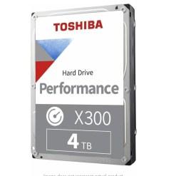 Toshiba 4TB X300 Performance Desktop and Gaming Hard Drive HDWE140EZSTA