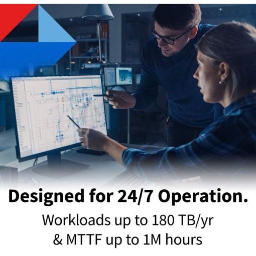 Toshiba 8TB HDWG180 24-7 Operation