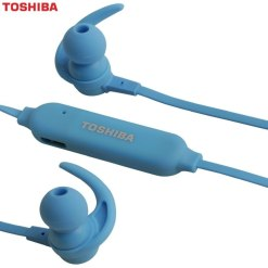 Toshiba Bluetooth Wireless Stereo Earphones RZEBT31E Blue