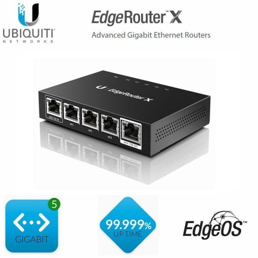 Ubiquiti ER-X EdgeRouter X 5 Port Gigabit Router