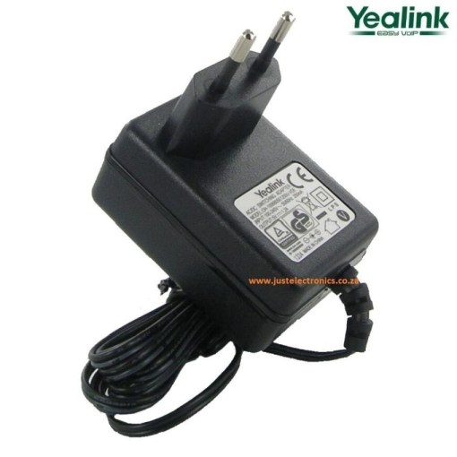 Yealink 5V 2A Power Supply For Colour Screen Phones