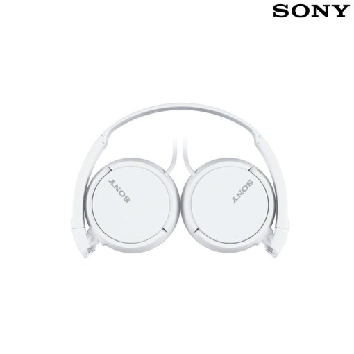 Sony Stereo Headphones White MDR-ZX110WC