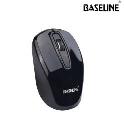 Baseline 2.4GHz Wireless Optical Mouse Black